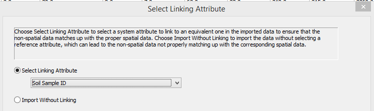 SMS CSV Import Linking Attribute