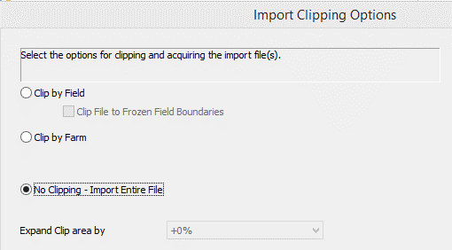 SMS Import No Clipping Bring in Entire File
